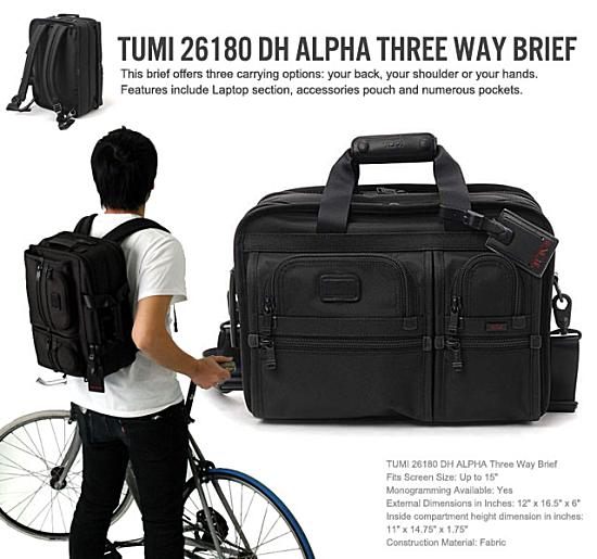 TUMI 26180は、やはり『3WAYでは人気NO1』