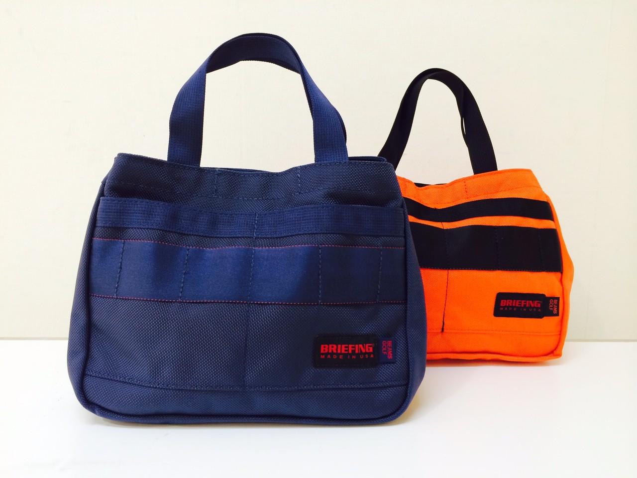 ビジネスバッグ2つ持ち、カッコ可愛いブリーフィング×ビームス