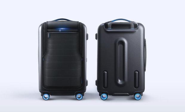 """""""Bluesmart""""はスマホとつながる次世代のスーツケース!!"""